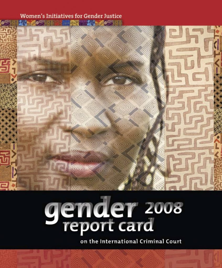 Gender Report Card on the ICC 2008
