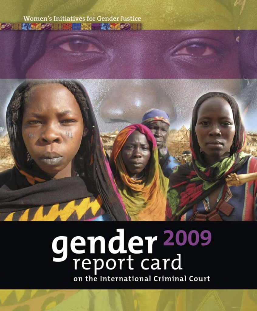 2009 Gender Justice report card