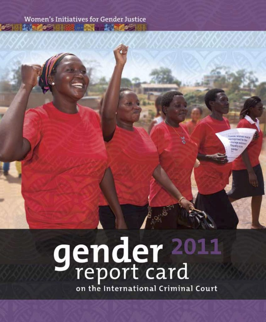 Gender Report Card on the ICC 2011