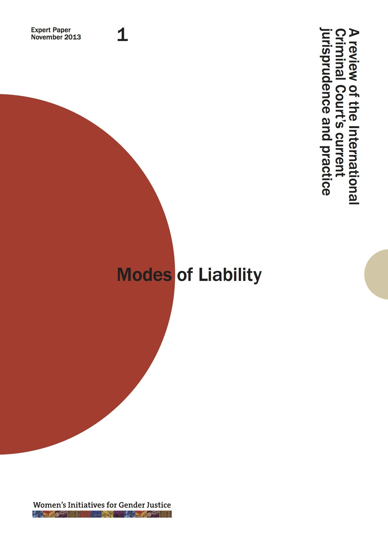 Cover of Modes of Liability