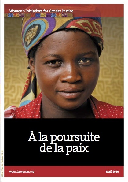 Cover of À la poursuite de la paix