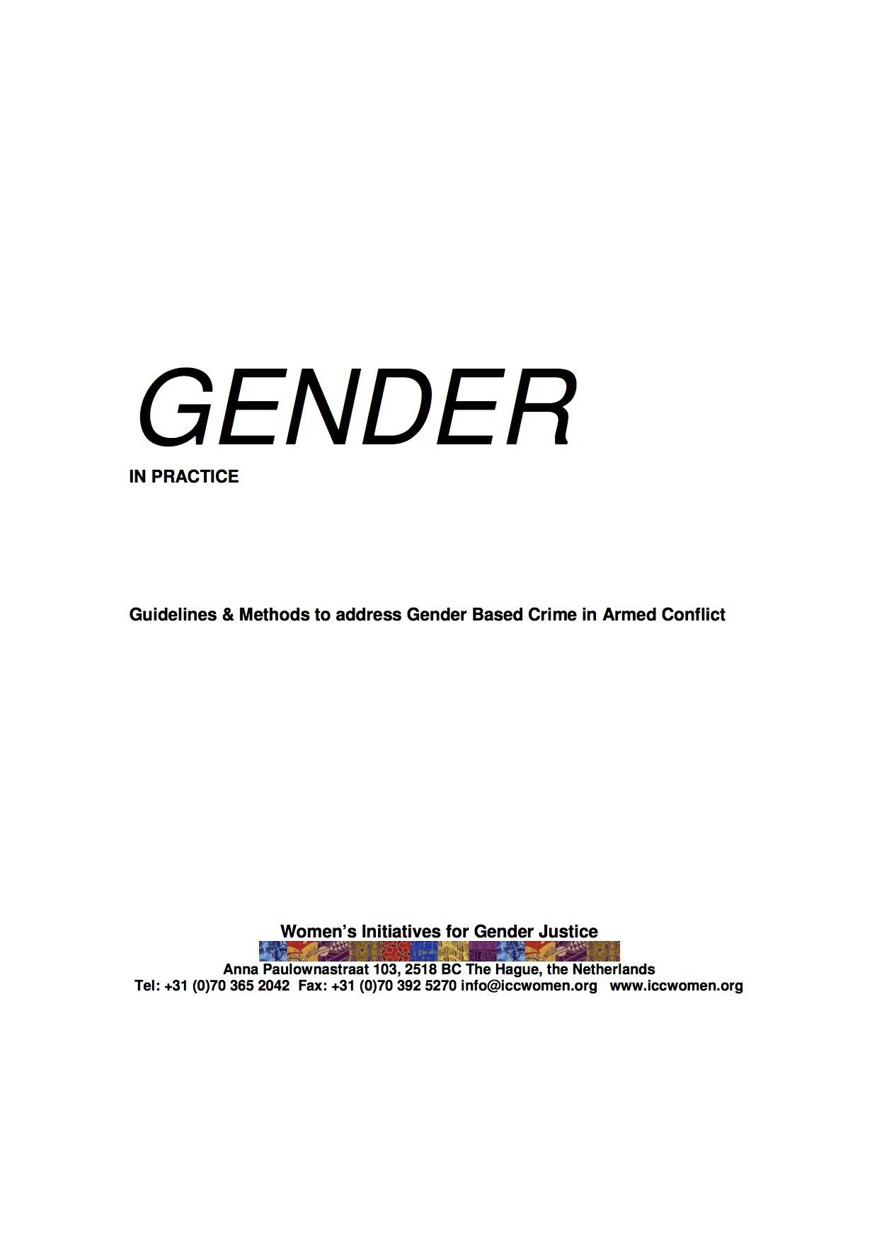 Gender In Practice